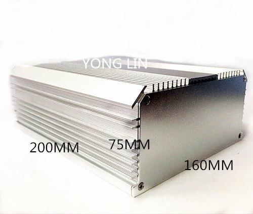 Multi-função de Conversor Caixa de Alumínio de 160*75-200mm Small Form Factor Chassis Habitação 1 Pcs –