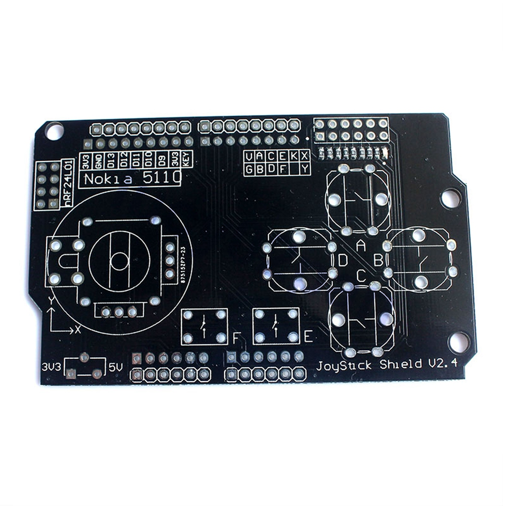US $7 0 |Joystick Shield Module Robotics Control for Arduino expansion  Board DIY Kit-in Integrated Circuits from Electronic Components & Supplies  on