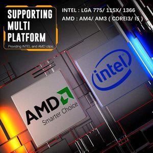 Image 3 - DarkFlash CPU Radiatore di Raffreddamento TDP 120W Dissipatore di Calore Silenzioso RGB PC Case Fan 120 millimetri 4Pin di Raffreddamento della CPU per LGA1151/1155/1156/1366/AM3/AM4