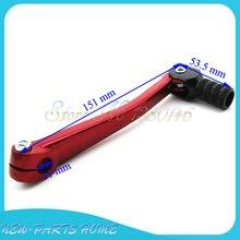 Красная Алюминиевая Складная рычаг переключения передач для китайского Lifan YX Pit Dirt Bike Motocross
