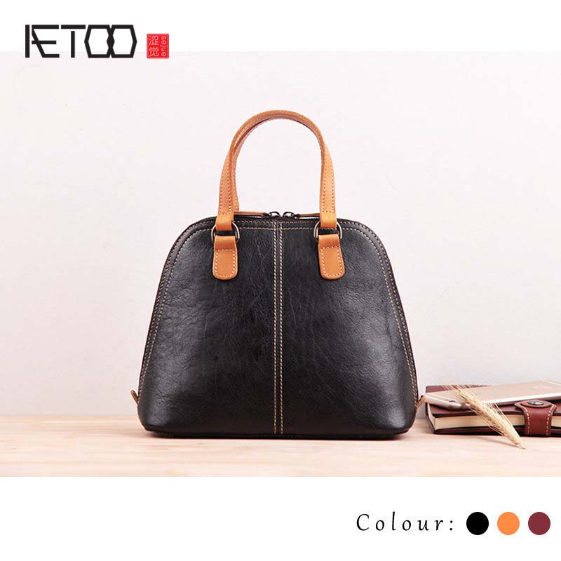 AETOO Handmade leather ladies bag small 2016 new Korean version of personalized fashion mini wild atmosphere shell handbag платье tommy hilfiger denim tommy hilfiger denim to013ewtpb77