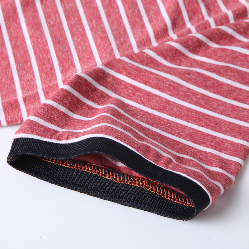 High Quality Polos Men Cotton 2019 Summer New Short Fashion Korean Style Striped Polo Shirts Male Quick Dry MuLS Brand Red Grey 6