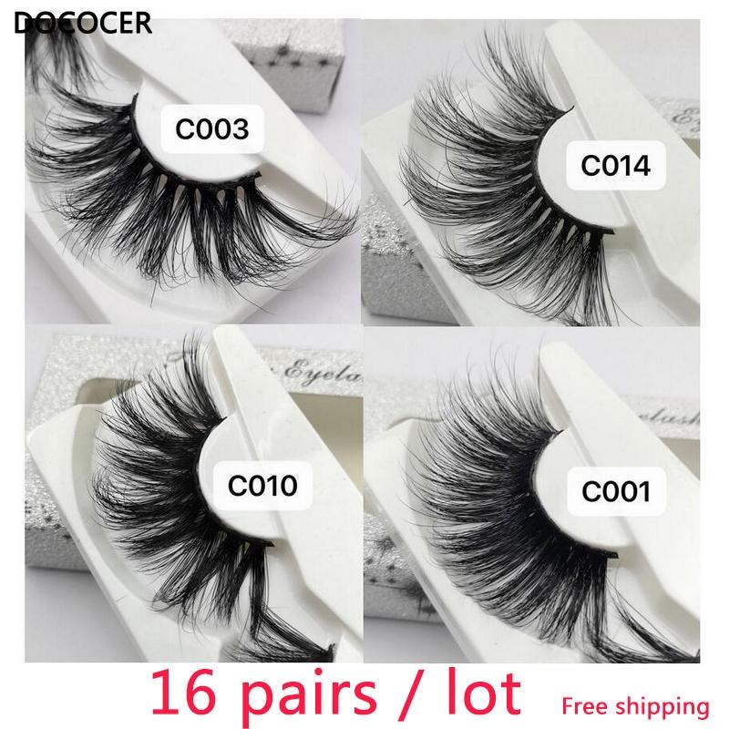 NEW longer than 25mm Eyelashes 30mm 3D mink lashes extra length mink eyelashes Big dramatic strip