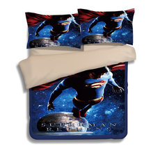 Justice League 3D printed bedding set iron Man The Flash duvet cover Superman bed linen comforter bedding sets US UK AU Size(China)