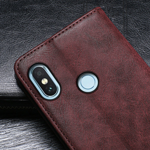 Image 5 - Magnet Flip Wallet Book Phone Case Leather Cover On For Xiaomi Redmi Note 5 6 7 8 Pro Note5 Note7 Note8 7Pro 8Pro 32/64 GB Xiomi