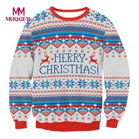 2017 Autumn Sweater Women Man Embroidery Knitted Winter Christmas Sweater And Pullover Female Tricot Jersey Jumper