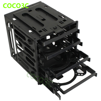 """Plastic & Steel 4 Bays SSD Protect Box For 2.5""""  3.5"""" SATA SAS IDE HDD enclosure Case 4-bay external SSD docking station"""