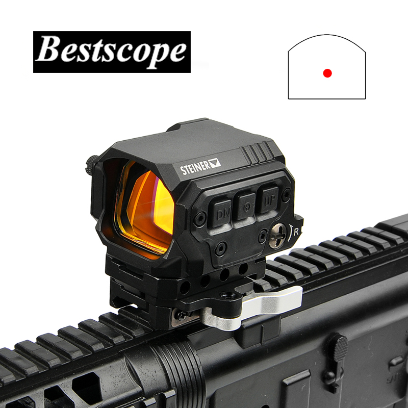 Optical R1X Red Dot Sight Scope Reflex Sight Holographic Sight With IR Function Quick Release Mounts