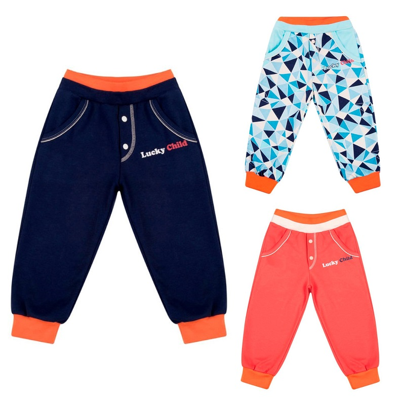 Pants Lucky Child for boys 32-11 (0M-12M) Leggings Hot Baby Children clothes trousers