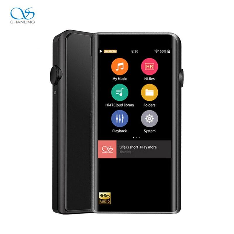 SHANLING M5s Portable Hifi numérique musique lecteur Mp3 Bluetooth salut res sans perte DAC lecteur Mp3 Flac DSD256 Mp 3