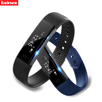 Smart Band ID115 Pulsera Smart Armband ID107 Bluetooth USB Direct Lading polsbandje Horloge Fitness Tracker Vs I6pro mi band 2