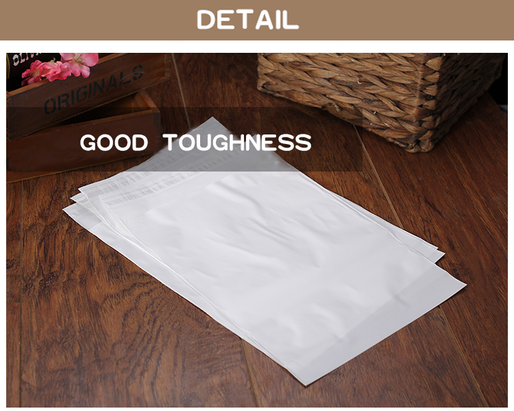 1 pe,Milky white,packaging,storage,self-adhesive bag,seal,cosmetics,mask paper,magazine,book,jewelry,towel,socks,panties,underwear,card,clothes,hat,shoes,scarves, (4)