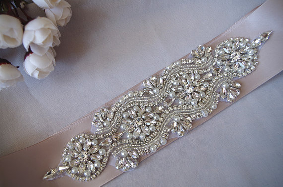 Crystal Bridal Sash Lique Headpiece Diy Belt Rae020 In Rhinestones From Home Garden On Aliexpress Alibaba Group