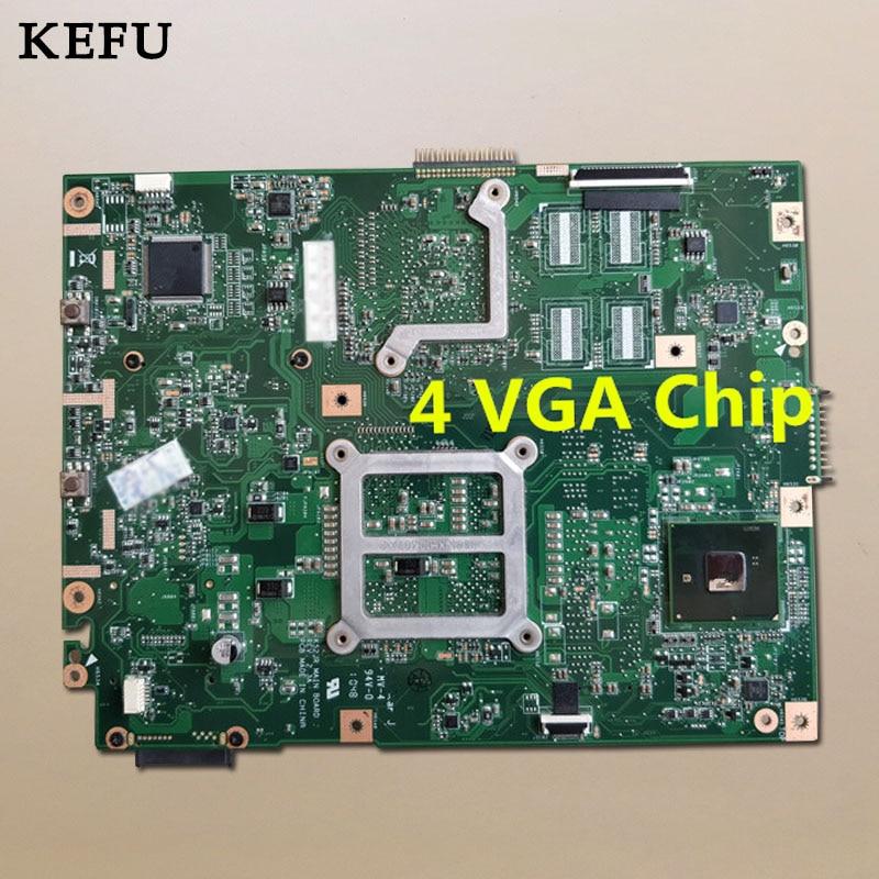 KEFU K52JR Laptop Motherboard For ASUS K52JB K52JE K52JR K52JC K52JT K52J A52J X52J REV2.3A Tested Good
