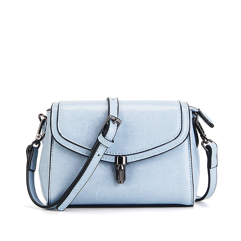 2017 new women leather handbags Simple fashion genuine leather small square bag female Shoulder Messenger Bags Crossbody bags bag female new genuine leather handbags first layer of leather shoulder bag korean zipper small square bag mobile messenger bags