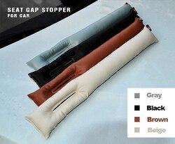 Бесплатная доставка, серый, черный, бежевый, коричневый, подушка для автомобильного сиденья, зазор, пробка, искусственная кожа, герметичная, ...