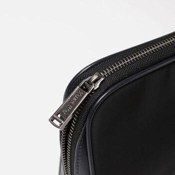 2018 XuanWei Original Design Schwarz Mann Geldbörsen Qualität Wasserdichte Falte-widerstehen Männer Taschen NEUE Mode Weiche Männer Kupplungen (XW10033)