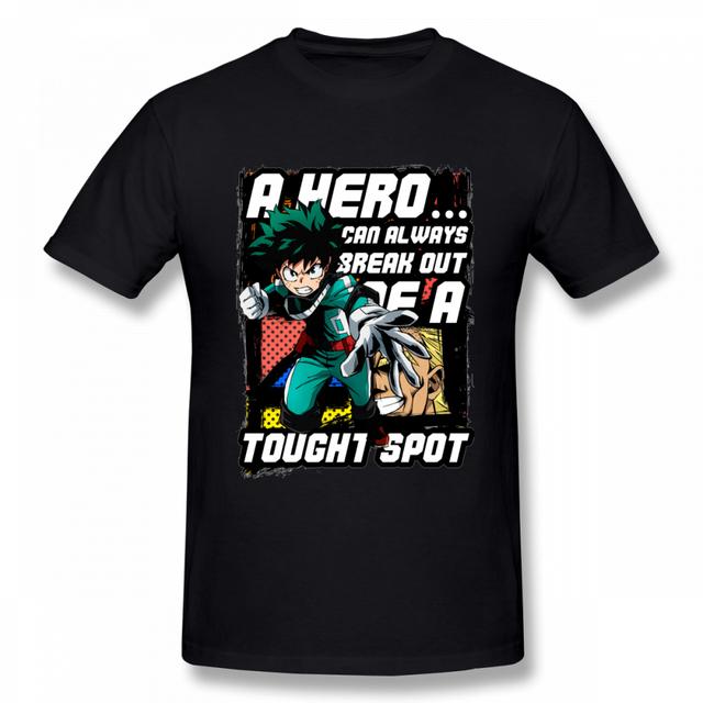Trendy Boku No Hero T-shirt