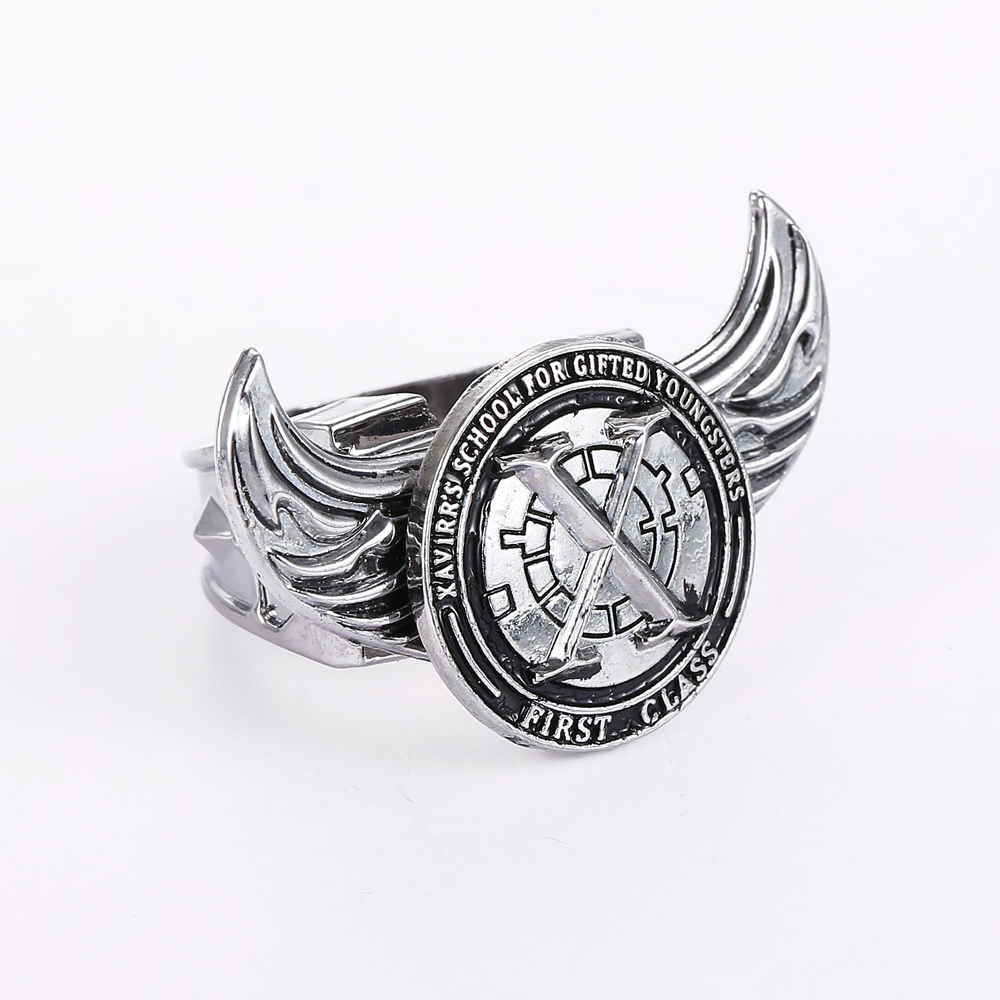 wings house evelyn of adjustable angel piper jewellery ring feather in headless rings images