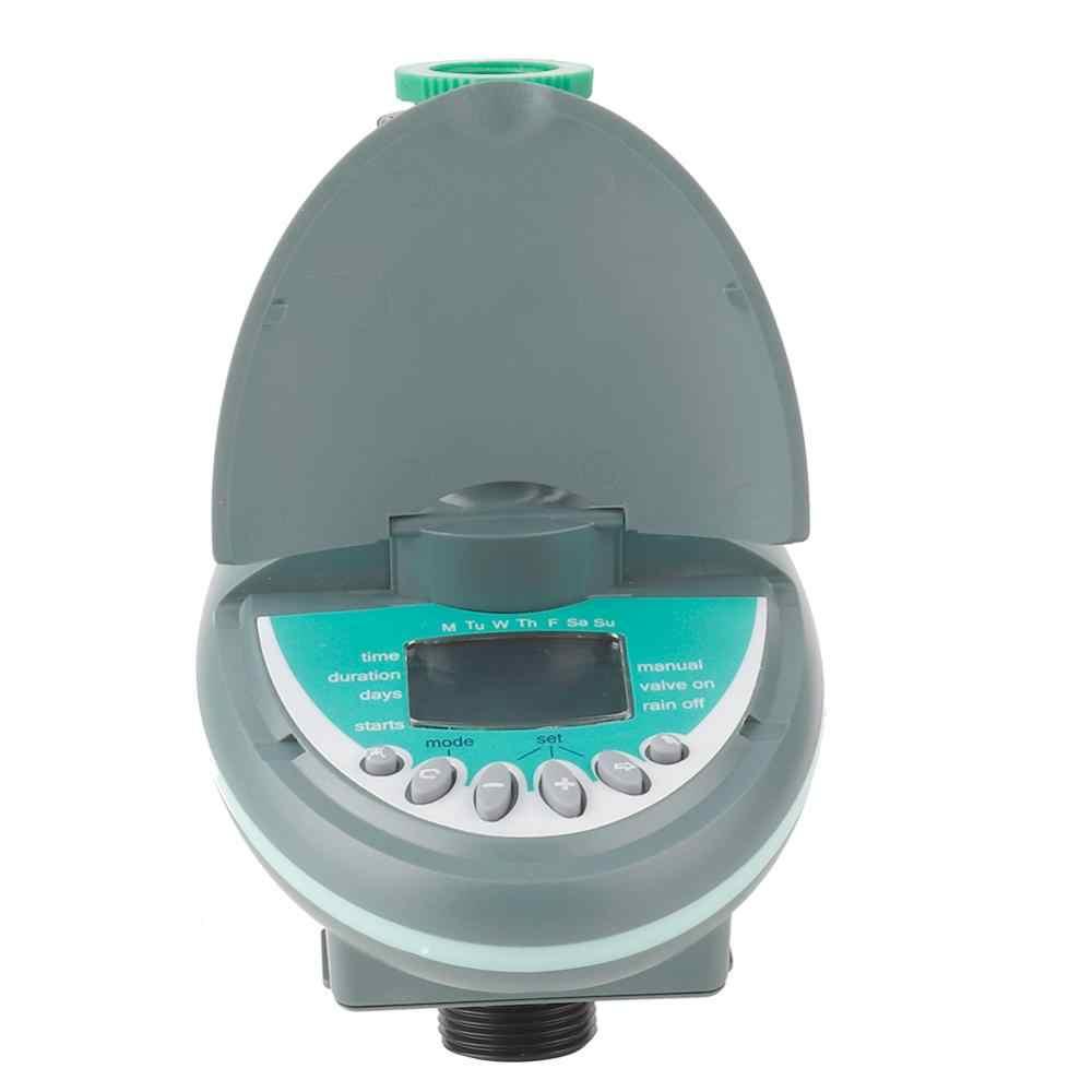 """G3/4 """"Jardim Temporizador Automático Inteligente Controlador de Display LCD Eletrônico Temporizador Água Jardim Rega Sistema de Irrigação"""