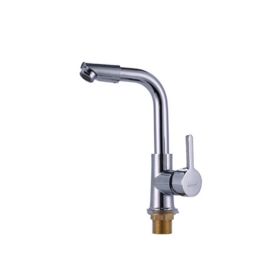 Kitchen Faucet Single Handle kitchen Tap Single Hole Rotatable Sink faucet Hot and cold water faucets Vegetable Basin Water Taps