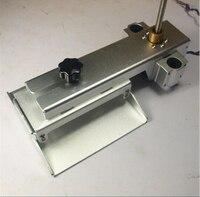 DIY УФ DLP/SLA 3D принтер Z оси платформа для изготовления системы комплект Z двигатель с Трапецеидальный ходовой винт Tr 8*8 (P8) беззазорной гайка
