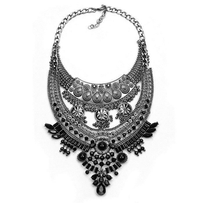 Collares mujer necklaces pendants steampunk choker maxi boho choose mozeypictures Gallery