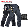 Мужские брюки для работы  высококачественные деловые брюки с несколькими карманами  бесплатная доставка