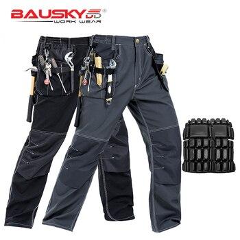 ¡Novedad! Pantalones de trabajo para hombre de alta calidad, ropa de trabajo, pantalones de trabajo con múltiples bolsillos, ropa de trabajo mecánica, envío gratis
