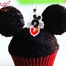 Cake Candle Number 3 Anniversary Age Mickey Mouse Birthday Party Supplies K Party Decoration k davydov cello concerto no 3 op 18