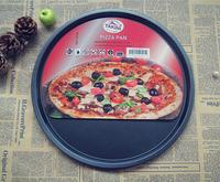 13 Inch Pizza Platter Non Stick Carbon Steel Pan Baking Mould Metal Cake Mold Pizza Pan