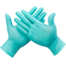 Disposable Blue Nitrile Gloves Kitchen Dishwashing Cooking Housework Cleaning Butyl Rubber Disposable Gloves kopilova blue disposable gloves in nitrile anti slip antistatic household gloves for finger protection free shipping