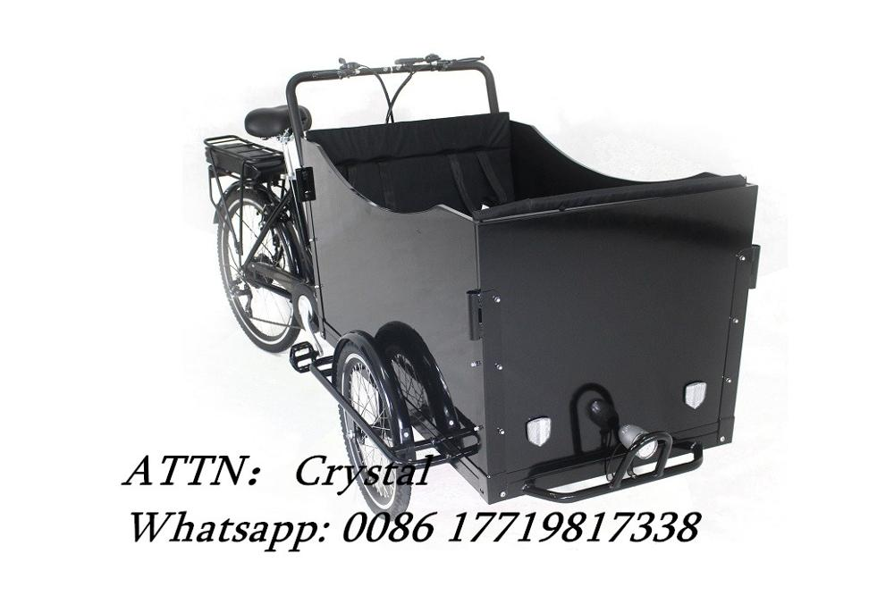 Electrical tricycle 3 wheel electric cargo bike  pedal electric cargo bike /cargo tricycle|Food Processors| |  - title=