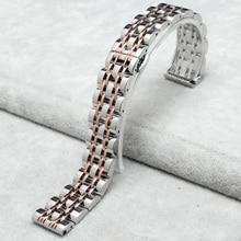 14 mm 16 mm 18 mm 20 mm 22 mm pulsera de acero inoxidable de reemplazo de la correa del reloj Band