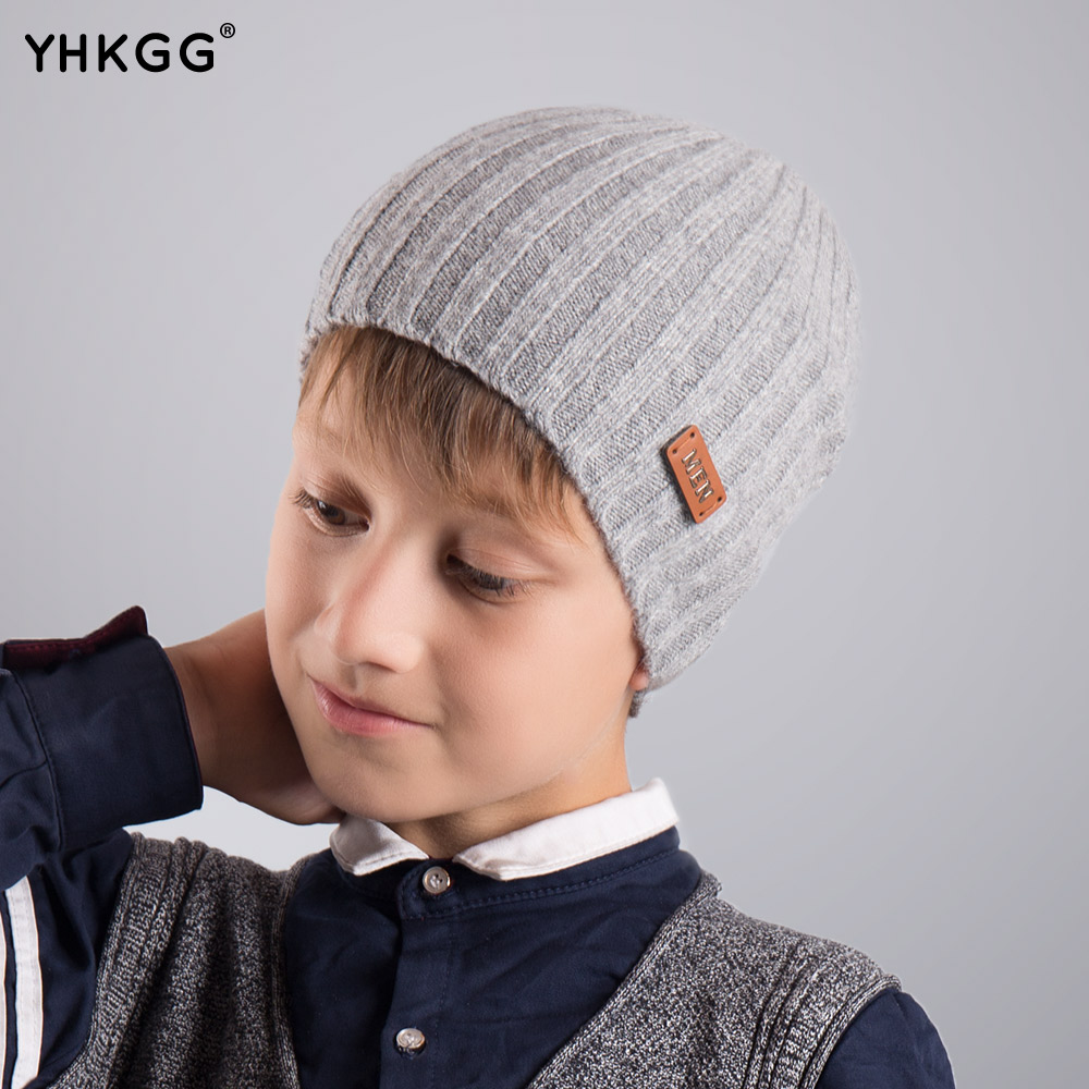 2017 YHKGG   autumn/winter fashion girl boy baby children cotton hat lovely knitting crochet hats accessories 2017 yhkgg the girl s hat warm and comfortable in winter hats the ornament of a flower cute baby hat knitting hat