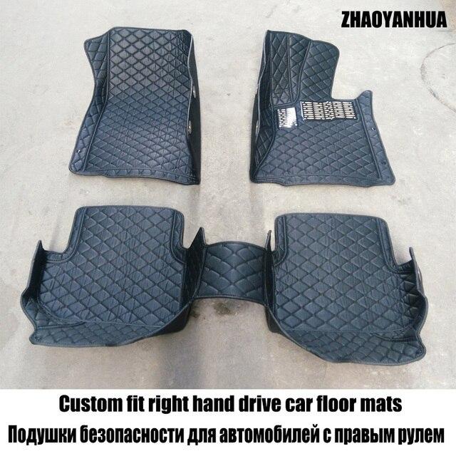 Custom fit car interior Accessories right hand drive car floor mat