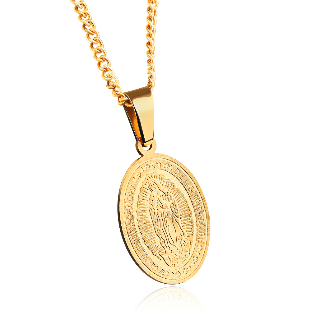 Virgin Of Guadalupe Pendants Necklaces Classical High Qualits