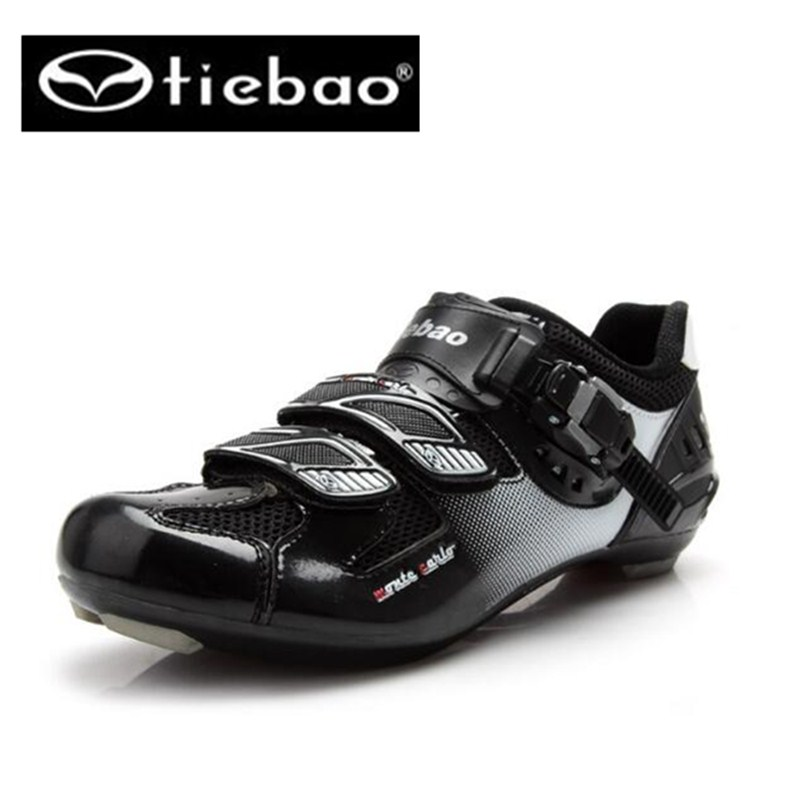 Tiebao Bicycle Racing Sports sapatilha ciclismo Road Cycling Shoes Breathable Athletic MTB Road Bike Auto-lock Shoes scoyco motorcycle riding knee protector extreme sports knee pads bycle cycling bike racing tactal skate protective ear