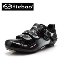 Tiebao Bicycle Racing Sports sapatilha ciclismo Road Cycling Shoes Breathable Athletic MTB Road Bike Auto-lock Shoes