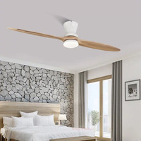 2019/60 inch Village Industrial Wooden Ceiling Fan With Lights Wood Ceiling Fans Without Light Decorative Ceiling Light Fan Lamp