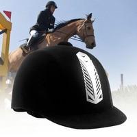 Women Men Safety Half Cover Sports Protective Anti Impact Cap Equestrian Helmet Adult Horse Riding Guard Hat Horse Equipment