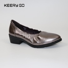 Factory direct gross sales of leather-based footwear and leather-based Women's Shoes High-heeled footwear 35-40