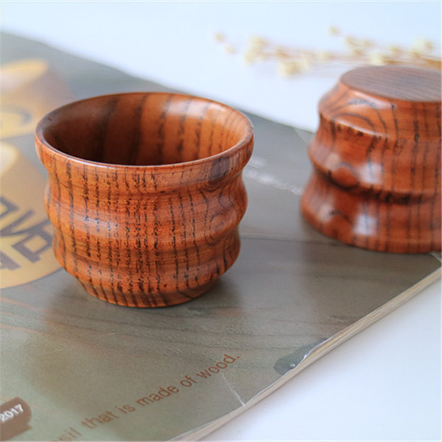 Us 500 Small Wooden Cups For Drinking Tea Coffee Hot Drinks In Teacups From Home Garden On Aliexpresscom Alibaba Group