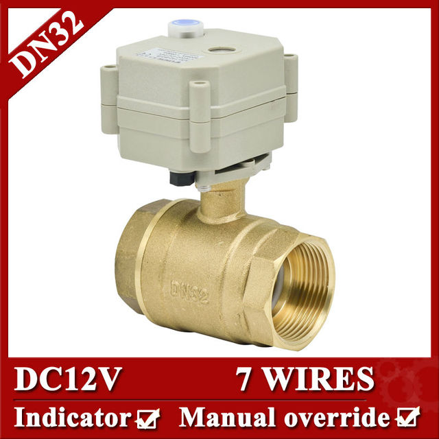 11 4 DC12V 7 wires electric water valve DN32 Electric ball valve 2 way full bore_640x640 11 4\