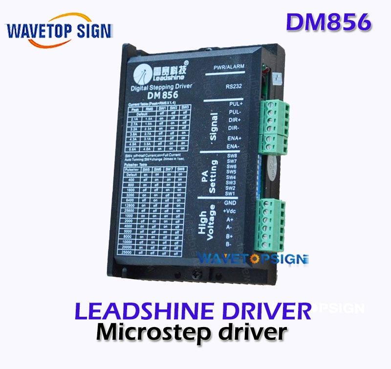 все цены на Leadshine   Driver DM856  2-phase stepper Driver For cnc Router  Laser engraving Machine 2-phase Step онлайн