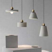 Anhänger lampe schatten silikon form Beton lampenschirm formen DIY home möbel formen