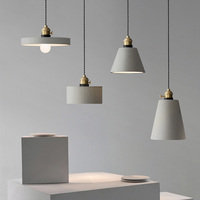 Pendant lamp shade silicone mold Concrete lampshade molds DIY home furniture molds