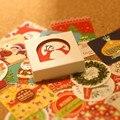2016 nuevo 38 unids/set navidad creativo temas pegatinas pegatinas DIY vinilo decorativo envío gratis