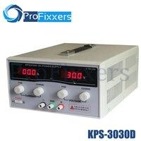 Новый kps3030d Высокая точность Мощность регулируемый светодиодный двойной Дисплей импульсный источник питания 220 В ЕС 30 В/30A