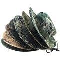 8 Colores de Camuflaje Militar Jungle Camo Pescador Sombreros de Cubo Sombrero de Ala Ancha Sol Sombrero Del Cubo de Pesca Camping Caza Caps